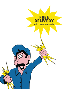 Free delivery with minimum order